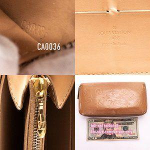 Louis Vuitton Bags - LOUIS VUITTON Vernis Zippy Wallet Long